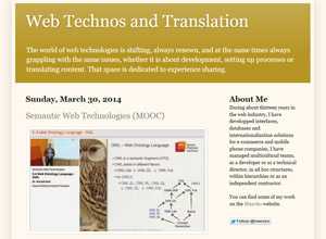 Web Technos and Translation